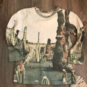 Other - Popupshop desert printed shirt